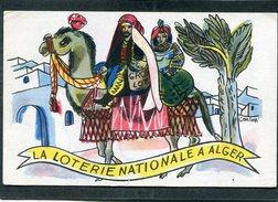CPA - Illustration CARLOTTI - La Loterie Nationale à Alger