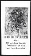 Austria/Autriche: Prova Per La Stampa, Proof For Printing, épreuve Pour L'impression, Dipinto Di H. Staudacher, Painted