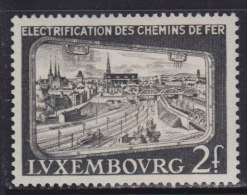 4294. Luxembourg, 1956, Electrification Of Railways, MNH (**) Michel 558 - Luxembourg