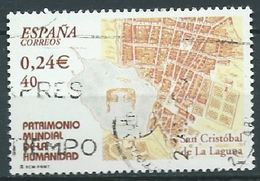 SPANIEN ESPAGNE SPAIN ESPAÑA 2001 FROM HUMAN HERITAGE M/S:SAN CRISTOBAL DE LA LAGUNA ED 3846 YV 3401 MI 3681 SC 3130D - 1931-Hoy: 2ª República - ... Juan Carlos I