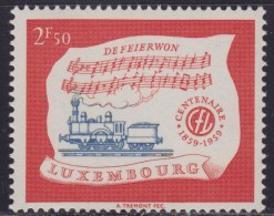 4828. Luxembourg 1959 Centenary Of Railroads In Luxembourg, MNH (**) Michel 611 - Luxembourg