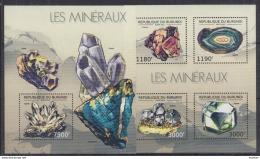 U40. Burundi - MNH - Minerals - 2012
