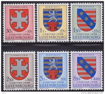 Luxembourg 1958 Coat Of Arms, MNH (**) Michel 595-600 - Luxembourg