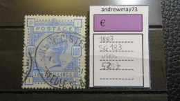 GREAT BRITAIN- STANLEY GIBBONS NUM. 183 USED 525 £