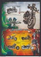 U40. Burundi - MNH - Transport - Motorbikes - 2012 - Motorbikes