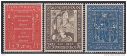 Luxembourg 1958 Willibrord, MNH (**) Michel 583-585 - Luxembourg