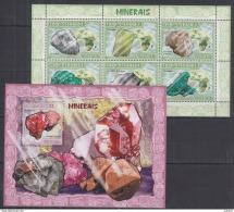 V40. Mozambique - MNH - Minerals - 2007
