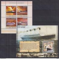 V40. Sao Tome And Principe - MNH - Transport - Ships - 2007