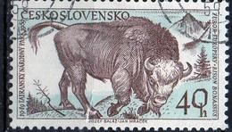 PIA - CECOSLOVACCHIA  - 1959 : 10° Anniversario Del Parco Nazionale Dei Monti Tatra  : Uri    -  (Yv 1038 )