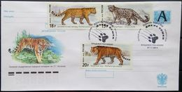 Russia, 2014, Cover With Special Cancel Of Vladivostok, Cats Of Prey - FDC
