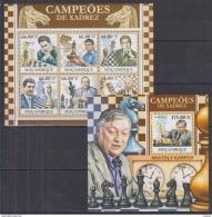 W40. Mozambique - MNH - Games - Chess - 2011