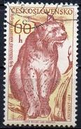 PIA - CECOSLOVACCHIA  - 1959 : 10° Anniversario Del Parco Nazionale Dei Monti Tatra  : Lince    -  (Yv 1039 )