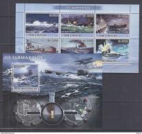 W40. Sao Tome And Principe - MNH - Transport - Submarines - 2008