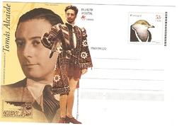 Portugal ** & Postal Stationery, Centenary Of The Tenor Tomas Alcaide 2001 (2753) - Interi Postali