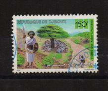 Djibouti 1995, Minr 615, Vfu. Cv Undetermined (mint Is 75 Euro)