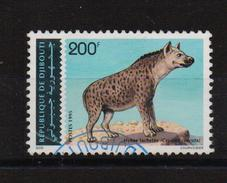 Djibouti 1995, Hyena, Minr 614, Vfu. Cv Undetermined (mint Is 120 Euro) Damaged!