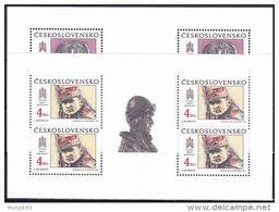 ** Tchécoslovaquie Mi Klb. 3059+3062 (Yv 2859-60) Les Feuilles, (MNH)