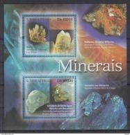 A41. Sao Tome And Principe - MNH - Minerals - 2011