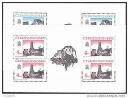 ** Tchécoslovaquie 1989 Mi 3022-3 Klb. (Yv  2823-4), Les Feuilles, (MNH)