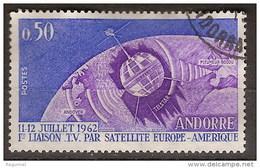 Andorra Francesa U 165 (o) Teleco.  1962