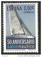 2011-ED. 4678-SERIE COMPLETA.50 ANIV. SALON NAUTICO DE BARCELONA-NUEVO