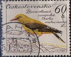 PIA - CECOSLOVACCHIA  - 1959 : Uccelli : Rigogolo  -  (Yv 1049 )