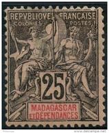 Madagascar (1896) N 35 * (charniere)