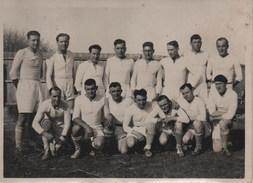 Photo Dédicacée D´une équipe Du RASA  Rugby Association Sports Algéroise (ALGER, Animée, Sportifs, Signatures)