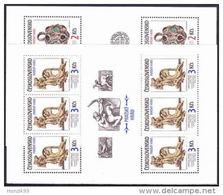 ** Tchécoslovaquie 1986 Mi 2865-6 Klb. (Yv  2678-9), Les Feuilles, (MNH)