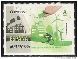 2016-ED. 5055 SERIE COMPLETA- Europa. Piensa En Verde  - NUEVO - 1931-Today: 2nd Rep - ... Juan Carlos I