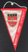 Budapest Sport Egyesület BSE Hungary FOOTBALL CLUB, SOCCER / FUTBOL / CALCIO, OLD PENNANT, SPORTS FLAG - Uniformes Recordatorios & Misc