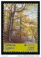 2011-ED. 4645 -SERIE COMPLETA -BOSQUES.PINTURA DE JUAN A. GONZALEZ-NUEVO