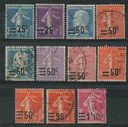 France (1926) N 217 à 228 (o) - France