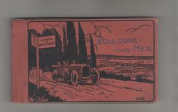 BOULOGNE - Album De 20 CPa + 20 Publicités + 20 Pages De Commentaires Sur La Ville - Boulogne Sur Mer