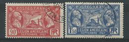 France (1927) N 244 à 245 (o)