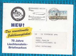 Germany Postcard Automatenmarke 06.07.1987/ Lorch