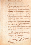 LAS.lettre Autographe Signée.LE DUC DE CHOISEUL. A Versailles Le 23 Juillet 1766.1 Page.20 Lignes.310 X 207 Mm. - Autographes