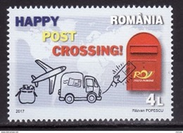 Roumanie 2017 - Postcrossing 1v.neuf**