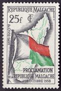 Madagascar  1958 - YT 339 -  Proclamation -  NEUF** - Madagascar (1960-...)