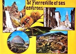 # Saint Pierreville Et Ses Environs - CP Multivues - France
