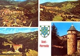# Saint Pierreville - CP Multivues - Francia