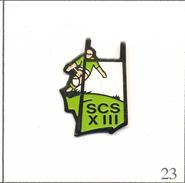 Pin´s Sport - Rugby XIII / SCS. Non Estampillé. Métal Peint. T522-23 - Rugby