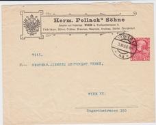 Österreich Privatganzsache PU 10 H Pollack Wien 1908