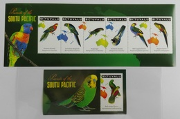 Tuvalu 2011** SH.+SS.1121. Parrots Of The South Pacific MNH [14;25]