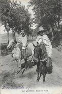 Algérie, Scènes Et Types: Etude Sur Route - Carte N° 246