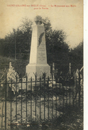 CPA (61)  SAINT  HILAIRE SUR RILLE Le Monument Aux Morts    (B BUR) - Autres Communes