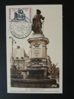 Carte Maximum Card Sculpture Charles De Gonzague Charleville Mézières 08 Ardennes 1961