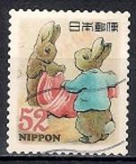 Japan 2015 - Greetings PEATER RABBIT   (52 Yen)