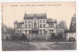 Soignies: Ancien Château Wincqz,actuellement Docteur Paternostre. - Soignies