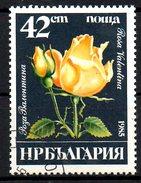 BULGARIE. N°2933 Oblitéré De 1985. Rose.